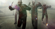 Counter-Strike: Global Offensive launching with zombie mod