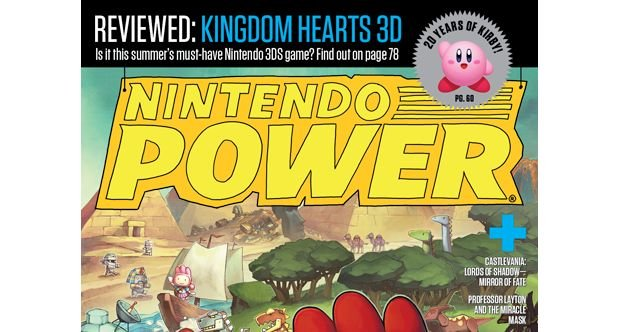 Nintendo Power top story