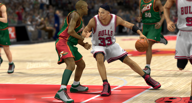 NBA 2K13 Legends screenshots