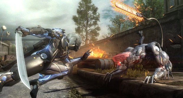 Metal Gear Rising: Revengeance PAX Prime 2012 screenshots