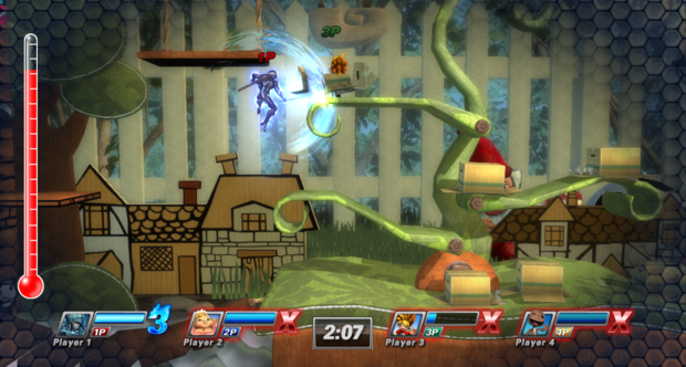 PlayStation All-Stars Battle Royale PAX Prime 2012 screenshots