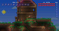 Terraria console announcement screenshots