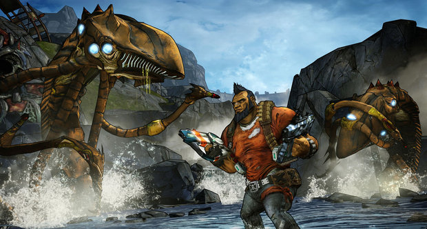 Borderlands 2 launch screenshots