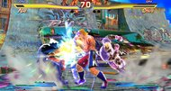 Street Fighter X Tekken Vita TGS 2012 screenshots