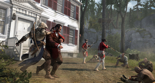 Assassin's Creed III single player art and screenshots