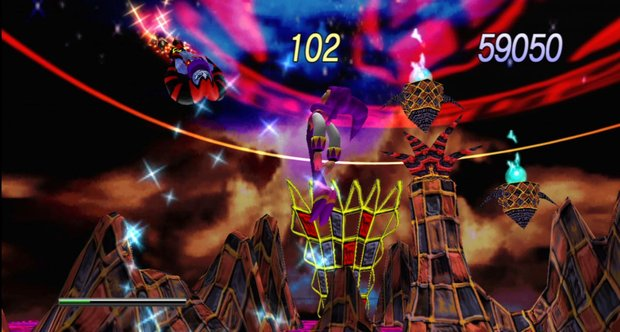 Nights into Dreams launch screenshots