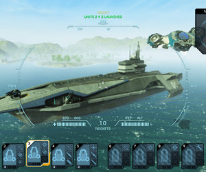 Carrier Command: Gaea Mission Screenshots