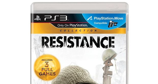 Resistance Collection box art