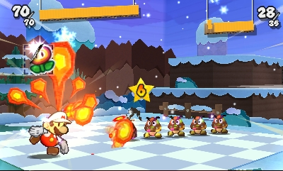 Paper Mario: Sticker Star Screenshots