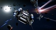 Star Citizen dogfighting captured on video