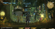 Final Fantasy XIV PS3 UI shown in first screens