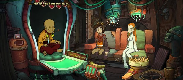Chaos on Deponia News