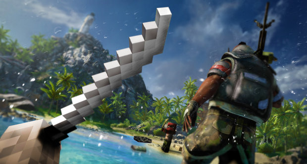 Minecraft PC to get a Far Cry 3 pack