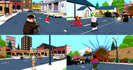 Family Guy: Back to the Multiverse multiplayer screenshots