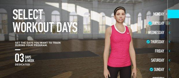 Nike+ Kinect Training News
