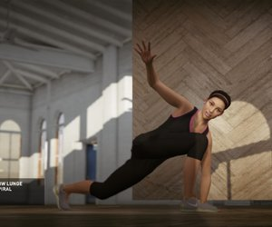 Nike+ Kinect Training Screenshots