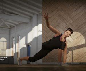 Nike+ Kinect Training Chat