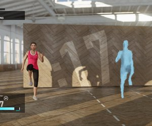 Nike+ Kinect Training Chat