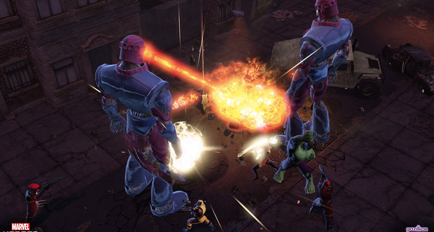 Marvel Heroes screenshots