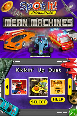 Spot It! Mean Machines Screenshots