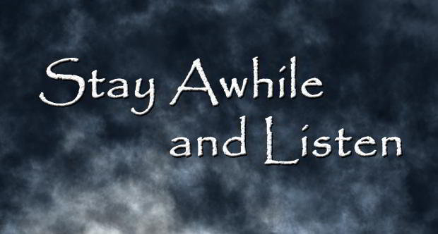 Stay Awhile and Listen Logo (use this one)