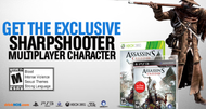 Assassin's Creed 3 'Sharpshooter' available with energy drink promotion