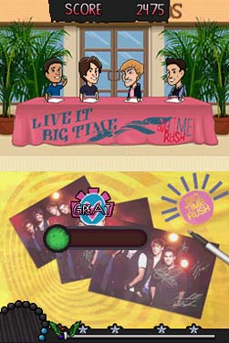 Big Time Rush: Backstage Pass Screenshots