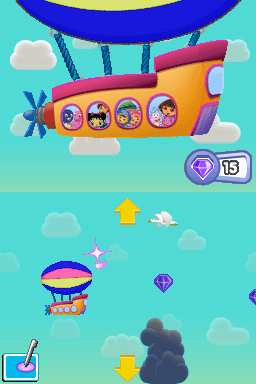 Nickelodeon Team Umizoomi & Dora's Fantastic Flight Files