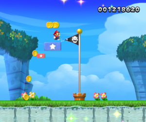 New Super Mario Bros. U Chat