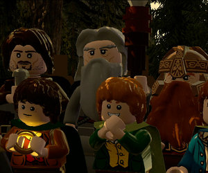 LEGO The Lord of the Rings Screenshots