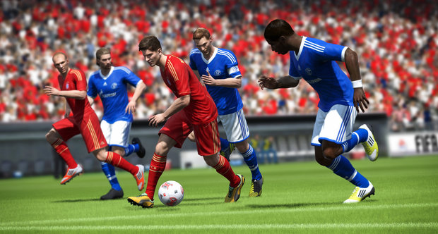FIFA 13 WiiU screenshots