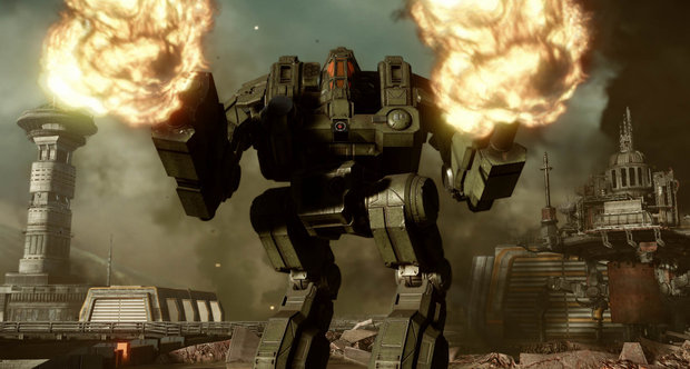 MechWarrior Online Cataphract screenshots