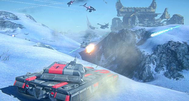 Planetside 2 launch screenshots