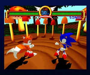 Sonic the Fighters Files