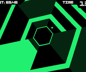 Super Hexagon Screenshots