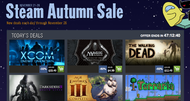 Steam autumn sale kicks off with XCOM, Walking Dead deals