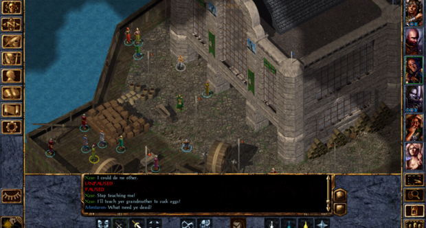 Baldur's Gate Enhanced Edition screenshots