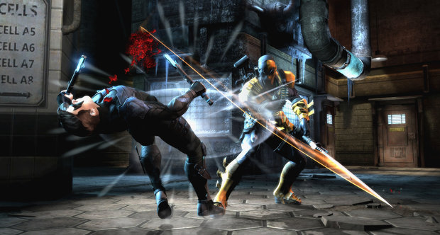 Injustice: Gods Among Us Deathstroke screenshots