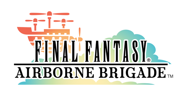 Final Fantasy Airborne Brigade screenshots and logo
