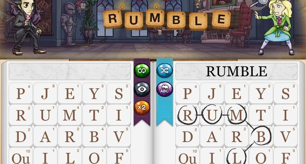 Writer Rumble screen