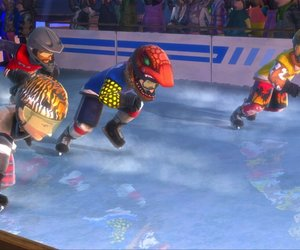Red Bull Crashed Ice Kinect Screenshots