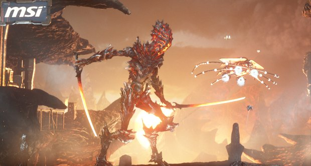 3DMark Fire Strike benchmarking test screens for DirectX 11