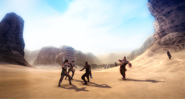 Age of Wushu screenshots