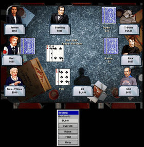 Hoyle Texas Hold'em Screenshot from Shacknews