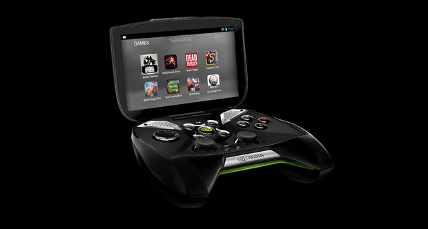 Nvidia Project Shield shots