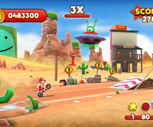 Joe Danger Touch Screenshots