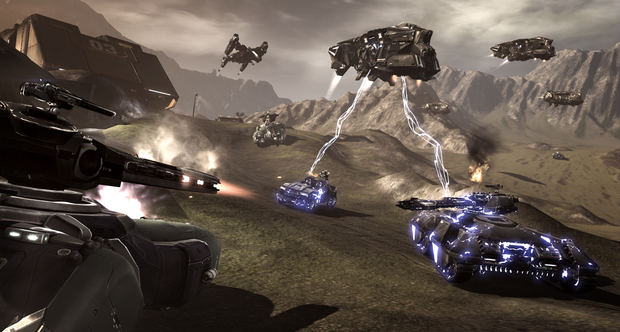 Dust 514 open beta screenshots