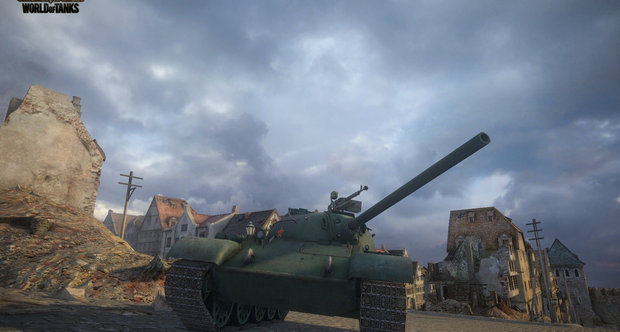 World of Tanks Chinese tanks screenshots