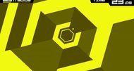 Super Hexagon now vexing Android