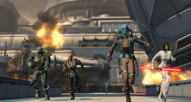Star Wars: The Old Republic Makeb screenshots